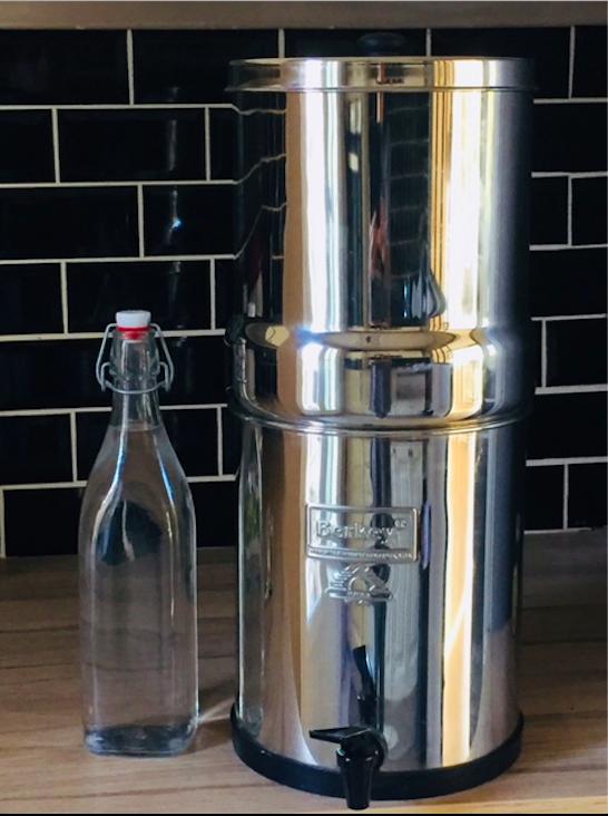 Filtre à eau BERKEY par Céline CAMILLERI